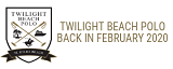Twilight Beach Polo Sticky Logo